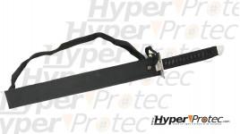 Sabre ninja 69 cm en acier inoxydable avec manche en cordelette