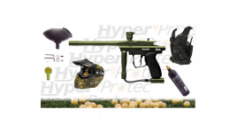 Pack Paintball Spyder Sonix + masque + billes + gilet...