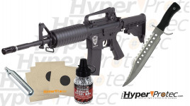 Pack Rambo avec Hellboy billes acier et couteau
