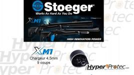 Barillet pour carabine PCP XM1 4.5 mm 9 coups