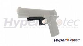 Rail de montage pour pistolet 1911 Colt 45
