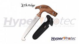 """Scie à une main """"Elk ridge"""" avec étui"""
