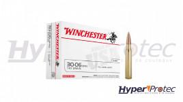 Cartouches Winchester 30.06 Sprg FMJ 147 Grains