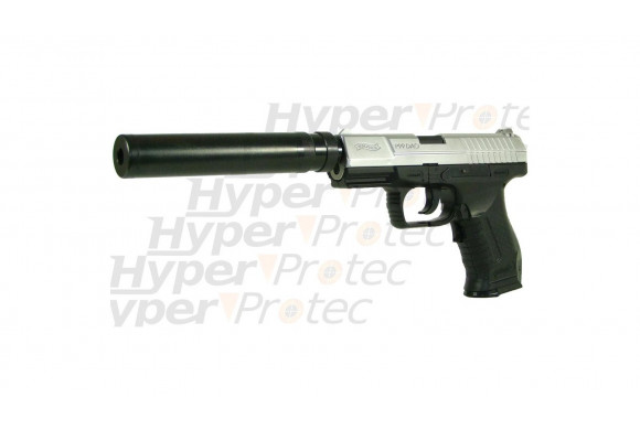 Walther P99 DAO à piles semi et full auto + 2 chargeurs