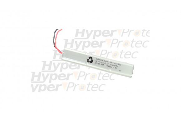 Batterie 500 mAh 7.2V pour airsoft électrique - type large