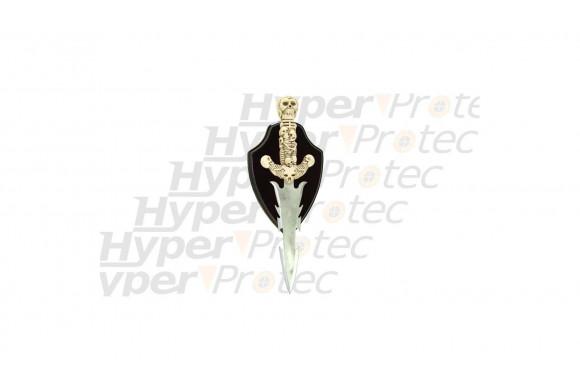Dague Têtes de mort Lumielle 44 cm