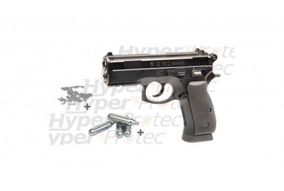Pack Halloween CZ 75D Compact + billes acier + CO2
