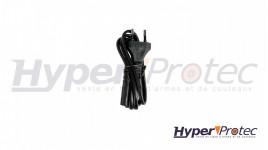 Mallette polycarbonate arme longue noire 31.5cm