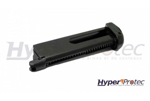 Holster tactique polymère pour pistolet CZ75D noir