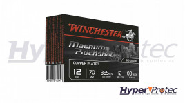 Winchester Cartouches Magnum Buckshot Calibre 12 - 5 Pièces