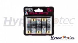 Concorde Defender Festi-Ball Confettis Calibre 12/67 - 5 Pièces