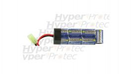 Batterie 1600 mAh 8.4V pour airsoft électrique - type mini