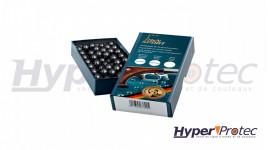 H&N SPORT Balles Rondes Calibre 36 ou .378 Diamètre 9.60mm - 200 Pièces