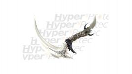 Couteau de décoration Fauche métal