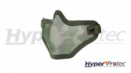 Masque Grillagé Airsoft Ultimate tactical Camouflage Vert / Tan