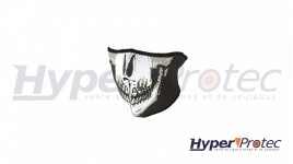 Masque De Protection Airsoft Ultimate Tactical Tête De Mort Noir