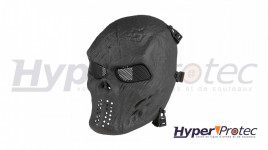 Ultimate Tactical Masque Airsoft Skull - Noir