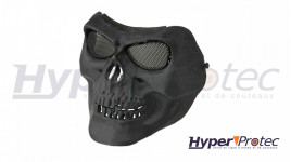 Ultimate Tactical Masque Airsoft Skull Style - Noir