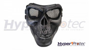 Invader Gear Masque Airsoft Squelette - Noir