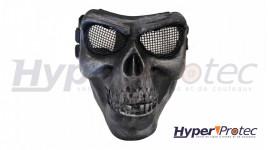 Invader Gear Masque Airsoft Squelette - Noir