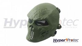 Shield Dragon Masque Airsoft Skull - Olive