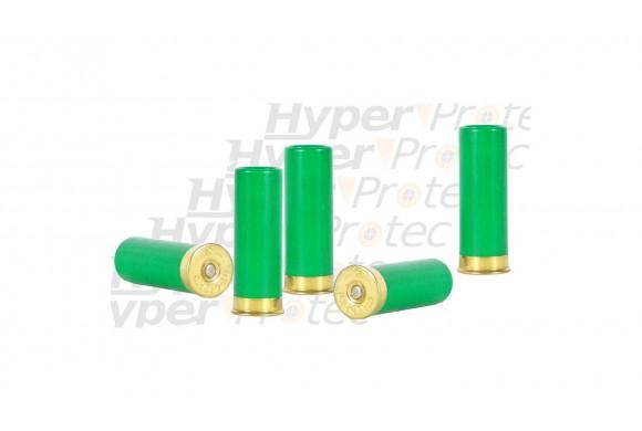 Chevrotines de défense caoutchouc 12 67 pour fusil de chasse