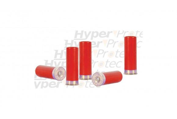 Balles de défense caoutchouc calibre 12 67 pour fusil de chasse