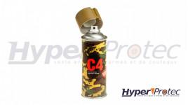 Spray Peinture C4 Mil Grade - Coyote Mat