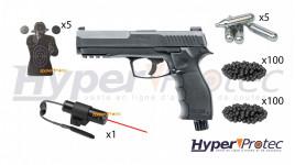 Pack T4E HDP 50 Pistolet Balle Caoutchouc