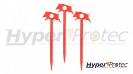 Couteau karambit Mtech stonewashed manche G10 et étui Kydex