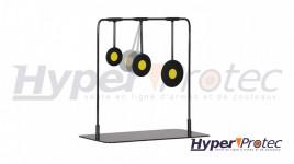 Gamo Cibles Mobiles 3 Cercles Avec Base