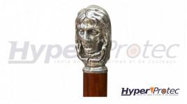 Statuette décorative Cerf enneigé