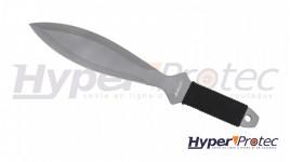 Couteau de lancer Haller revêtement titane et manche paracorde