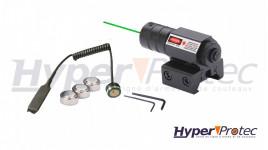 Pointeur Laser a rayon Vert compatible Rail 11 mm et 22 mm