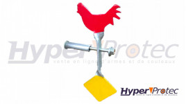 Cible Rotative Pour Plinking Coq