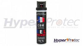 Bombe Lacrymogène CBM Gel Poivre 75 ml