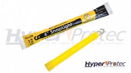 Bâton Lumineux Snaplight 15 cm couleur Jaune 12 heures