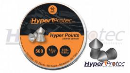 Plomb diabolos 4.5 mm pointus HyperProtec Hyper Points