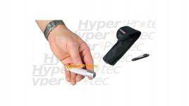 Lampe rechargeable Micro Fire Led Lenser V² gris + étui