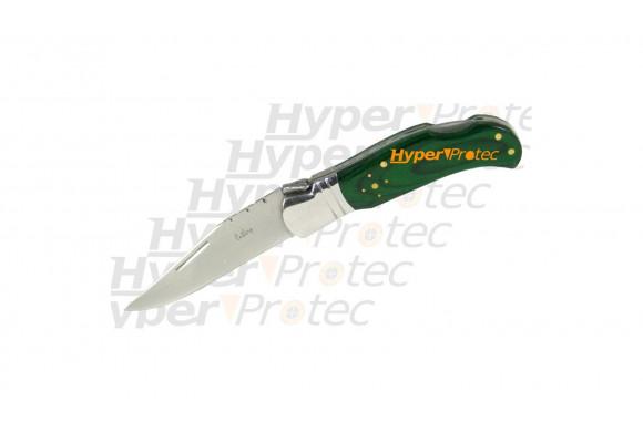 Couteau Laguiole manche en stamina vert