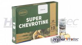 Cartouche Calibre 12/67 Prevot Super Chevrotine Subsonic