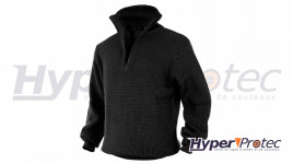 Pull camionneur a col pull Troyer Noir