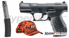 Pack Pistolet Alarme Walther P99
