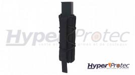 Machette Squale avec dos de lame en scier poignée ergonomique