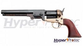 Revolver Poudre Noire 1851 Reb Nord Navy Deluxe Calibre 44