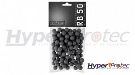100 Balles Caoutchouc Calibre 50 T4E Prac Series