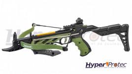 Pistolet Arbalète Alligator Tactical Couleur Vert 80 Lbs