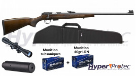 Pack Carabine 22LR CZ457 Luxe