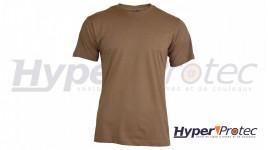 T-shirt Mil-Tec Style US Couleur Marron