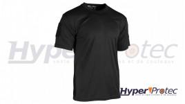 T-Shirt Mil-Tec Tactique Quick Dry Couleur Noire